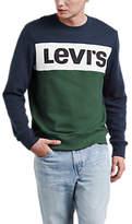 Levi's Colour Block Crew Neck Sweatshirt, Multi