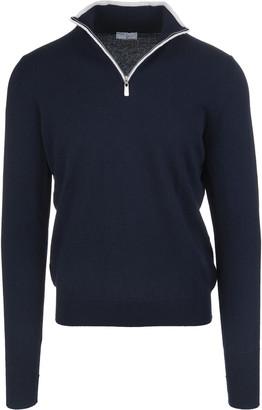 Fedeli Dark Blue Favonio Vintage Pullover