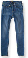 Aeropostale Womens Prince & Fox Seriously Soft Light Wash Ankle Jegging
