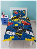Lego Batman Movie Hero Single Duvet Cover Set