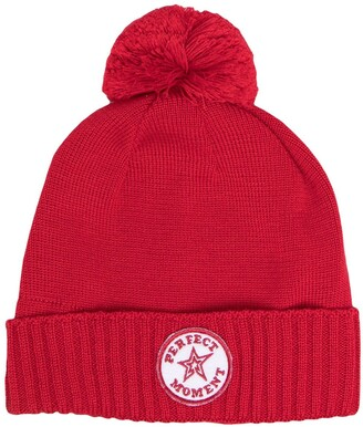 Perfect Moment Pompom Beanie Hat