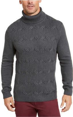 Tasso Elba Men Chunky Turtleneck Sweater