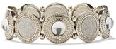 New York & Co. Shimmering Circle Stretch Bracelet