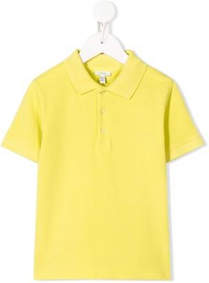 Knot Short Sleeve Polo Shirt