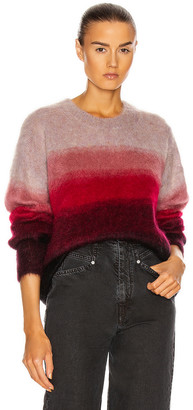 Etoile Isabel Marant Drussell Sweater in Raspberry | FWRD
