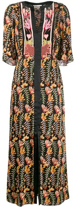 Temperley London Rosy patterned dress