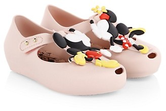 Mini Melissa Baby Girl's Little Girl's Mickey Minnie Mouse Disney Mini Ultragirl Shoes