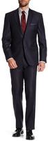 HUGO BOSS Howard Court Two Button Notch Lapel Trim Fit Suit