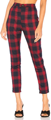 superdown Darla Plaid Pant