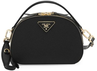 Prada Odette Leather Top Handle Bag