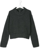 DSQUARED2 chunky knit sweater - kids - Nylon/Viscose/Cashmere/Wool - 16 yrs
