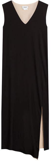 DKNY Midi Dress with Slit