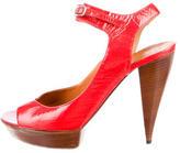 Lanvin Patent Leather Sandals