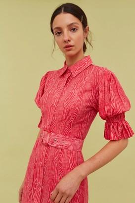 C/Meo EARLY ON DRESS pink woodgrain