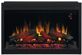 """ClassicFlame 36EB110-GRT 36"""" Traditional Built-in Electric Fireplace Insert, 120 volt"""