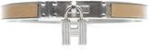Hermes Beige Leather Kelly Cadena 65 Bracelet