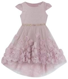 Rare Editions Toddler Girl Soutache Hi Low Dress