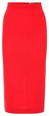 Roland Mouret Arreton wool-crApe pencil skirt
