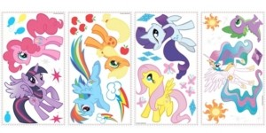 York Wall Coverings York Wallcoverings My Little Pony Peel and Stick Wall Decals