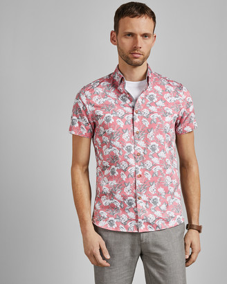 Ted Baker PEACHY Floral print cotton shirt