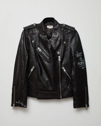 Zadig & Voltaire Loon Leather Jacket