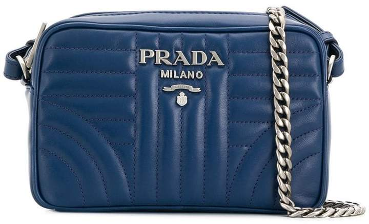 d4584f0d1126 Prada Quilted Leather Handbags - ShopStyle