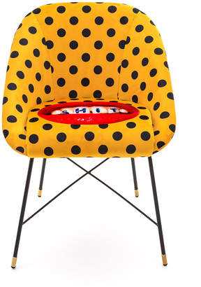 Seletti Wears Toiletpaper wears Toiletpaper - Upholstered Padded Chair - Sh*t