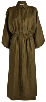 Gabriela Hearst Hemp Ares Shirt Dress