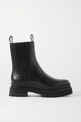 Loeffler Randall Toni Leather Chelsea Boots - Black