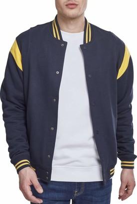 Urban Classics Men's Inset College Sweat Jacket Track