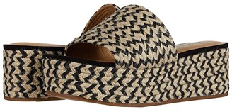 Lucky Brand Befanni (Black/Natural) Women's Shoes