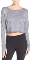 Zella Women's 'Ready Or Not' Crop Pullover Top
