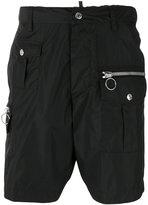DSQUARED2 military shorts - men - Polyamide - 48