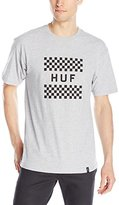 HUF Men's Checkerboard Box Logo T-Shirt