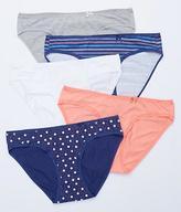 St. Eve Ruffle Trim Bikini 5-Pack