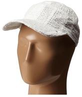 Lauren Ralph Lauren Cotton Eyelet Baseball Hat