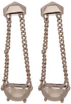 Botkier Stone Chain Linear Drop Earrings