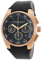 Porsche Design 6620-69-40-1243 Men's Dashboard Auto Chrono Black Calf-Skin &