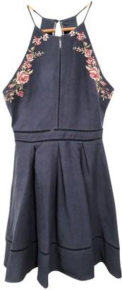 J.o.a. Blue Cotton Dress for Women