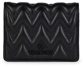 Valentino By Mario Valentino Sauvage Leather Bifold Wallet