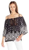 Angie Women's Cold-Shoulder Top