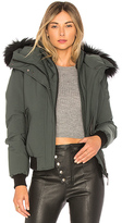 Mackage Britnie Jacket With Asiatic Raccoon Fur