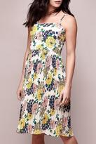Yumi Floral Pleated Dress