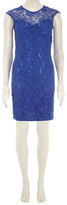 Dorothy Perkins Blue sequin lace dress