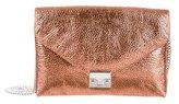 Loeffler Randall Metallic Patent Leather Crossbody Bag