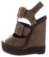Pierre Hardy Espadrille Wedge Sandals