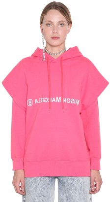 MM6 MAISON MARGIELA Logo Cotton Sweatshirt Hoodie