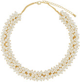Kenneth Jay Lane Simulated Pearl Choker Necklace