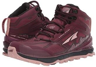 Altra Footwear Lone Peak 4 Mid RSM (Dark Port/Light Rose) Women's Shoes