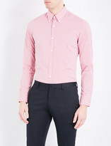 HUGO BOSS Regular-fit checked cotton shirt